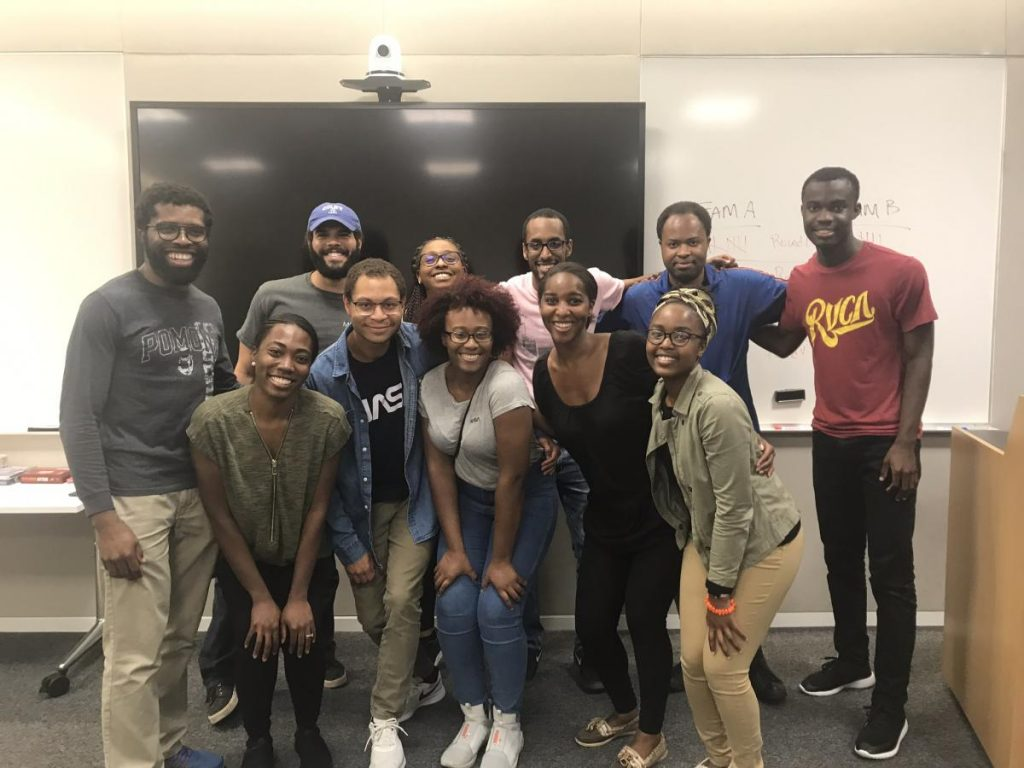 Black Scholars in Biscience group of students